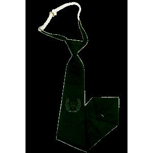 Галстук форменный МО с вышивкой, генерал